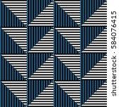 seamless vector abstract... | Shutterstock .eps vector #584076415
