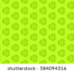 decorative geometric seamless... | Shutterstock . vector #584094316