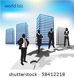 business people | Shutterstock .eps vector #58412218