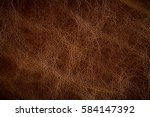 patterned leather and old... | Shutterstock . vector #584147392