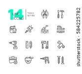 tools   modern vector single... | Shutterstock .eps vector #584225782