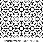 islamic pattern. arabesque star ...   Shutterstock .eps vector #584248846