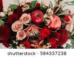 Autumnal Wedding Bouquet Of...