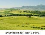 tuscany hills | Shutterstock . vector #58435498