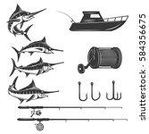 Deep Sea Design Elements...