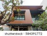 modern home | Shutterstock . vector #584391772