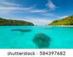 kohrok island  krabi thailand   Shutterstock . vector #584397682