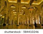 mecca  saudi arabia   circa... | Shutterstock . vector #584410246