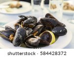 Mussels Steamed In A Sauce  A...