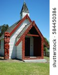 Small photo of Onoku Chapel, Akaroa, South Island, New Zealand