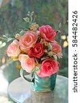 old bouquet | Shutterstock . vector #584482426