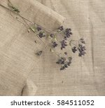 burlap natural background with... | Shutterstock . vector #584511052
