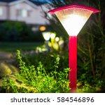 Decorative Small Red Solar...