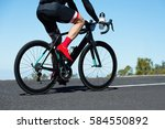 cycling competition cyclist... | Shutterstock . vector #584550892