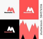 mountain logo. | Shutterstock .eps vector #584576536