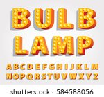 vector yellow orange... | Shutterstock .eps vector #584588056