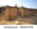 pae muang pee forest park thai... | Shutterstock . vector #584607496