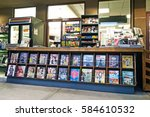 pasadena california   feb. 12 ... | Shutterstock . vector #584610532