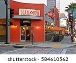 pasadena california   feb. 12 ... | Shutterstock . vector #584610562
