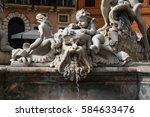 Navona Fountain  Rome  Italy