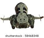 futuristic spaceship | Shutterstock . vector #58468348