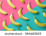 colorful fruit pattern of fresh ... | Shutterstock . vector #584685835