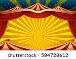 a vector illustration of a... | Shutterstock .eps vector #584728612