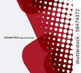 abstract background design | Shutterstock .eps vector #58474372