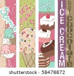 summer sweets vertical banners