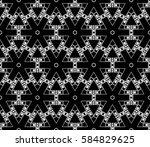 modern stylish texture.... | Shutterstock . vector #584829625