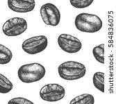 seamless pattern design or...   Shutterstock .eps vector #584836075