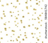 star confetti background... | Shutterstock . vector #584841742