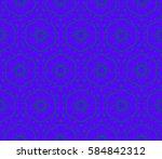 modern geometric seamless... | Shutterstock . vector #584842312