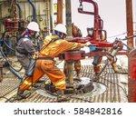 malaysia  16 july 2006  miri... | Shutterstock . vector #584842816