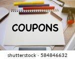 business concept   top view... | Shutterstock . vector #584846632