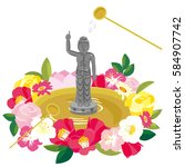 Flower Festival Of Buddha