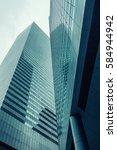 skyscrapers of ny | Shutterstock . vector #584944942