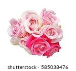 bouquet of roses | Shutterstock . vector #585038476