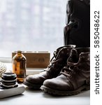old boots | Shutterstock . vector #585048622