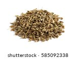 Pile Of Of Dried Anise Seed ...