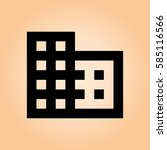 squares icon | Shutterstock .eps vector #585116566