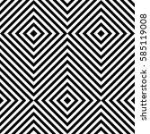 vector seamless pattern.... | Shutterstock .eps vector #585119008