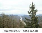 view of saarschleife  the... | Shutterstock . vector #585156658