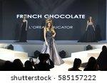 bangkok  thailand   february 22 ... | Shutterstock . vector #585157222