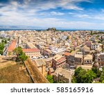 corfu  greece   june 3  2015 ... | Shutterstock . vector #585165916