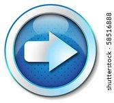 arrow icon | Shutterstock . vector #58516888