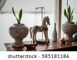 Decorative Wooden Horse Stands...