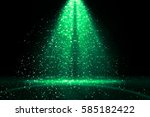 Green Abstract Background....