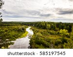 panorama of the natural...   Shutterstock . vector #585197545