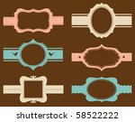 vector illustration of a frame... | Shutterstock .eps vector #58522222